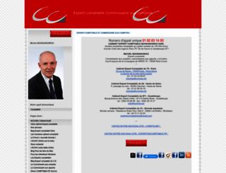 cabinetscomptables.com screenshot