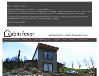 cabinfever.us.com screenshot