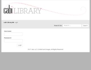 cabiscoopcentral.com screenshot