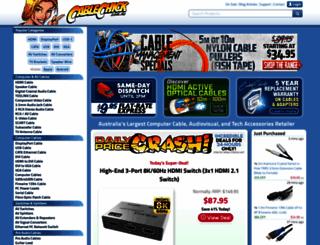 cablechick.com.au screenshot
