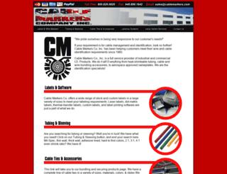 cablemarkers.com screenshot