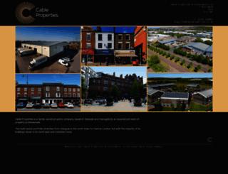 cableproperties.co.uk screenshot