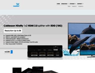 cablesson.com screenshot