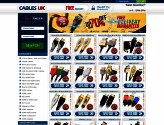 cablesuk.co.uk screenshot
