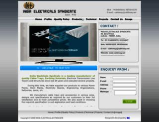 cabletray.net.in screenshot