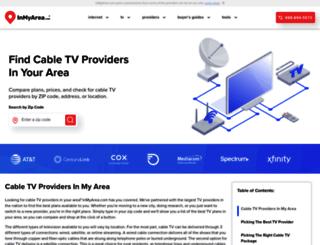 cabletv.inmyarea.com screenshot