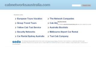 cabnetworksaustralia.com screenshot