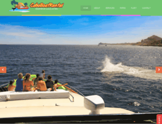 caboboatrental.com screenshot