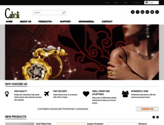 cabolijewelry.com screenshot