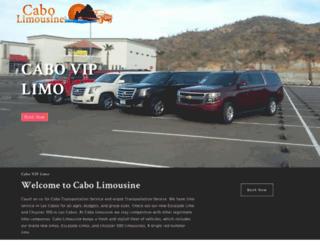 cabolimousine.com screenshot