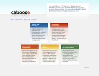 caboosebooks.net screenshot