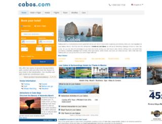 cabos.com screenshot