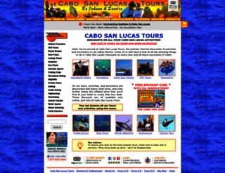 cabosanlucastours.net screenshot