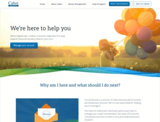 cabotfinancial.co.uk screenshot