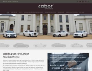 cabotprestige.com screenshot
