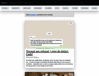 cabral.ro screenshot