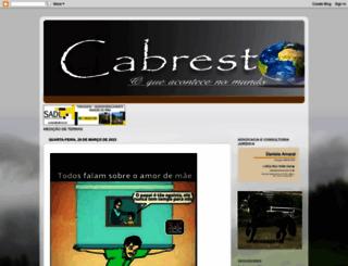 cabresto.blogspot.com.br screenshot