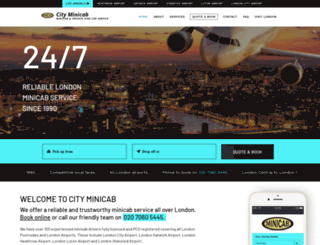 cabservice.org.uk screenshot