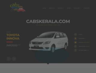 cabskerala.com screenshot