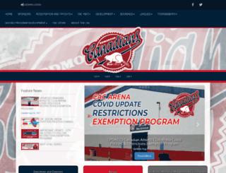 cac-hockey.com screenshot