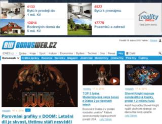 cac.bonusweb.cz screenshot