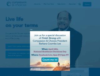 cac.convio.net screenshot