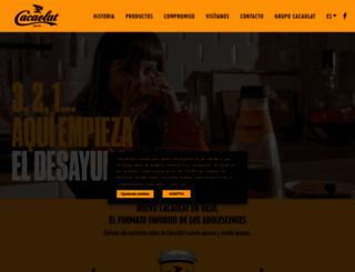 cacaolat.es screenshot