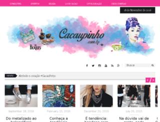 cacaupinho.com.br screenshot
