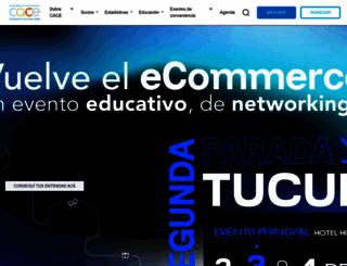 cace.org.ar screenshot
