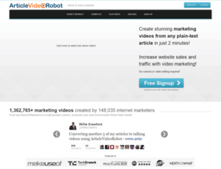 cached.articlevideorobot.com screenshot