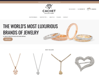 cachetcollections.com screenshot