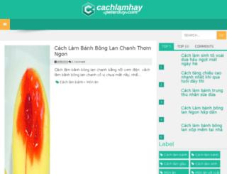 cachlamhay.peterduy.com screenshot