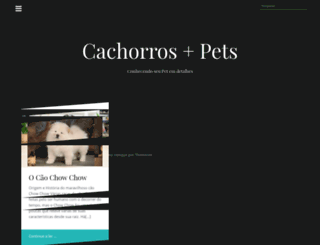 cachorrosplus.com screenshot