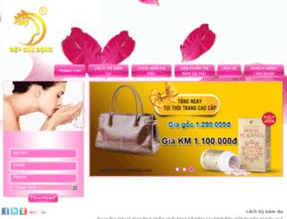 cachtrinamda.com screenshot
