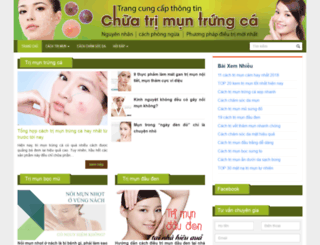 cachtritrungca.com screenshot