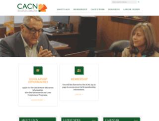 cacollegesofnursing.org screenshot