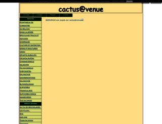 cactus-avenue.blog4ever.com screenshot