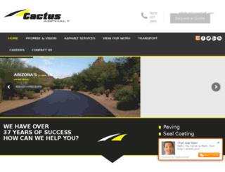 cactusasphalt.reachlocal.com screenshot