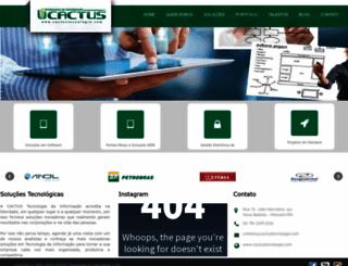 cactustecnologia.com.br screenshot