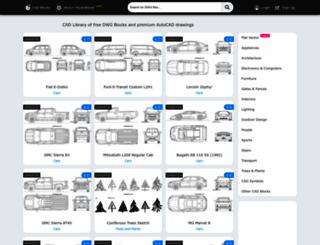 cad-block.com screenshot