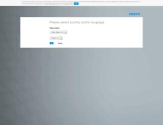 cad.festo.com screenshot