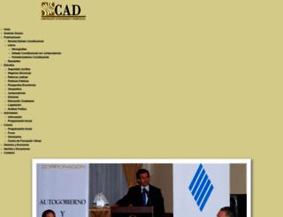 cad.org.ec screenshot