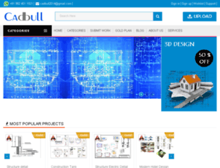 cad.webnemail.com screenshot