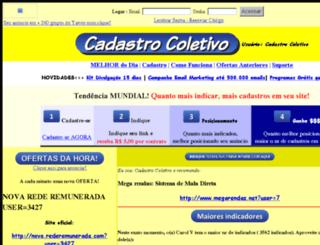 cadastrocoletivo.r115.net screenshot