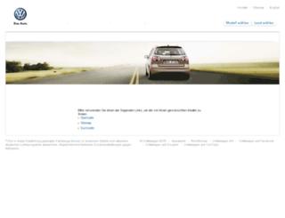 cadastroweb.vw.com.br screenshot