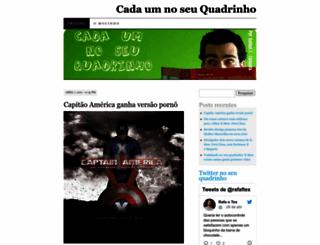 cadaumnoseuquadrinho.wordpress.com screenshot