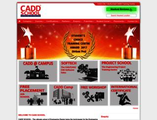 caddschool.com screenshot