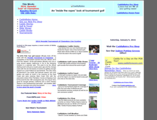 caddybytes.com screenshot