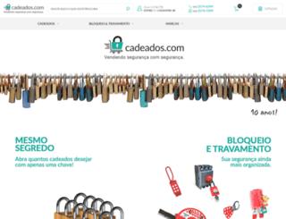 cadeados.com.br screenshot