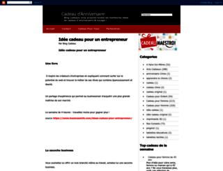 cadeau-d-anniversaire.blogspot.fr screenshot